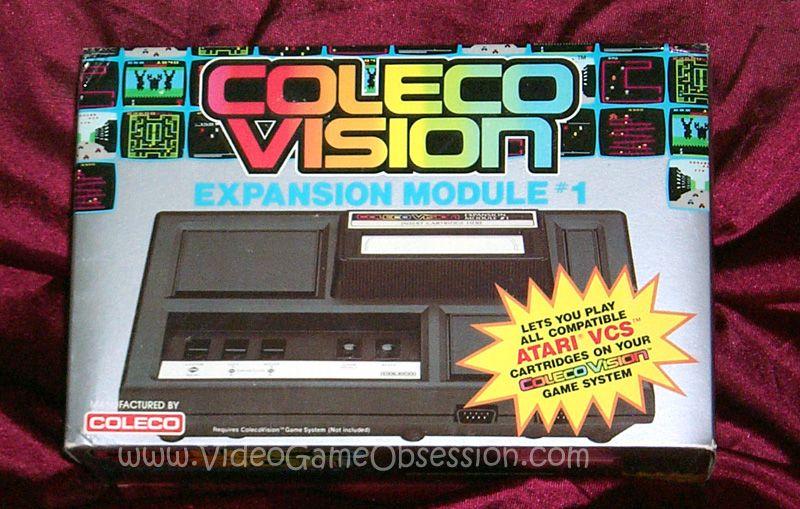The add on Atari 2600 module.