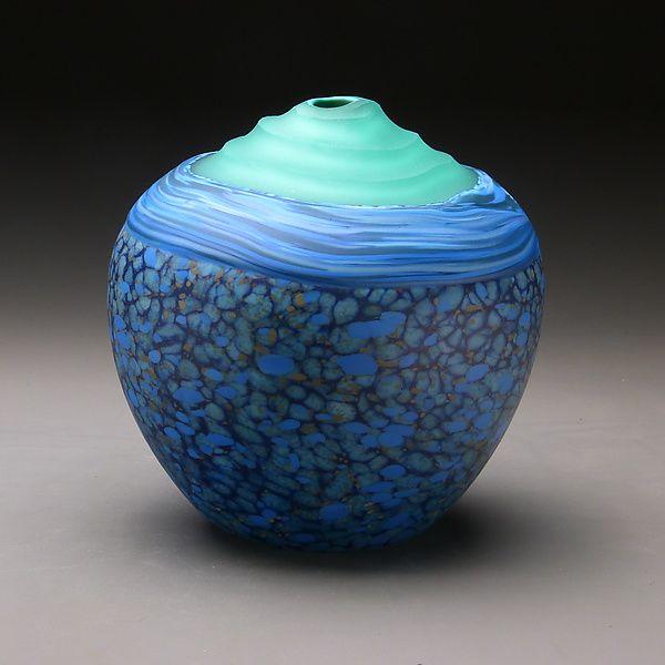 Twilight by Thomas Spake (Art Glass Vessel)