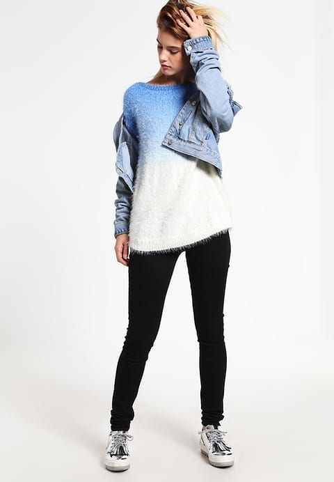 OVS Jumper - off-white/light blue for £29.99 (15/12/16) with free delivery at Zalando