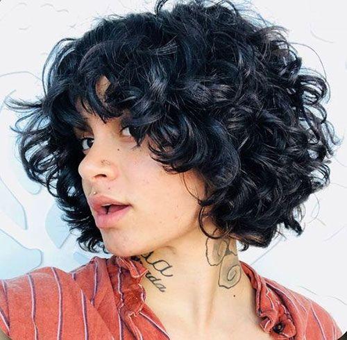 8 Layered Curly Bob Hairstyle Jpg 500 490 Hair Styles Curly Hair Styles Curly Bob Hairstyles