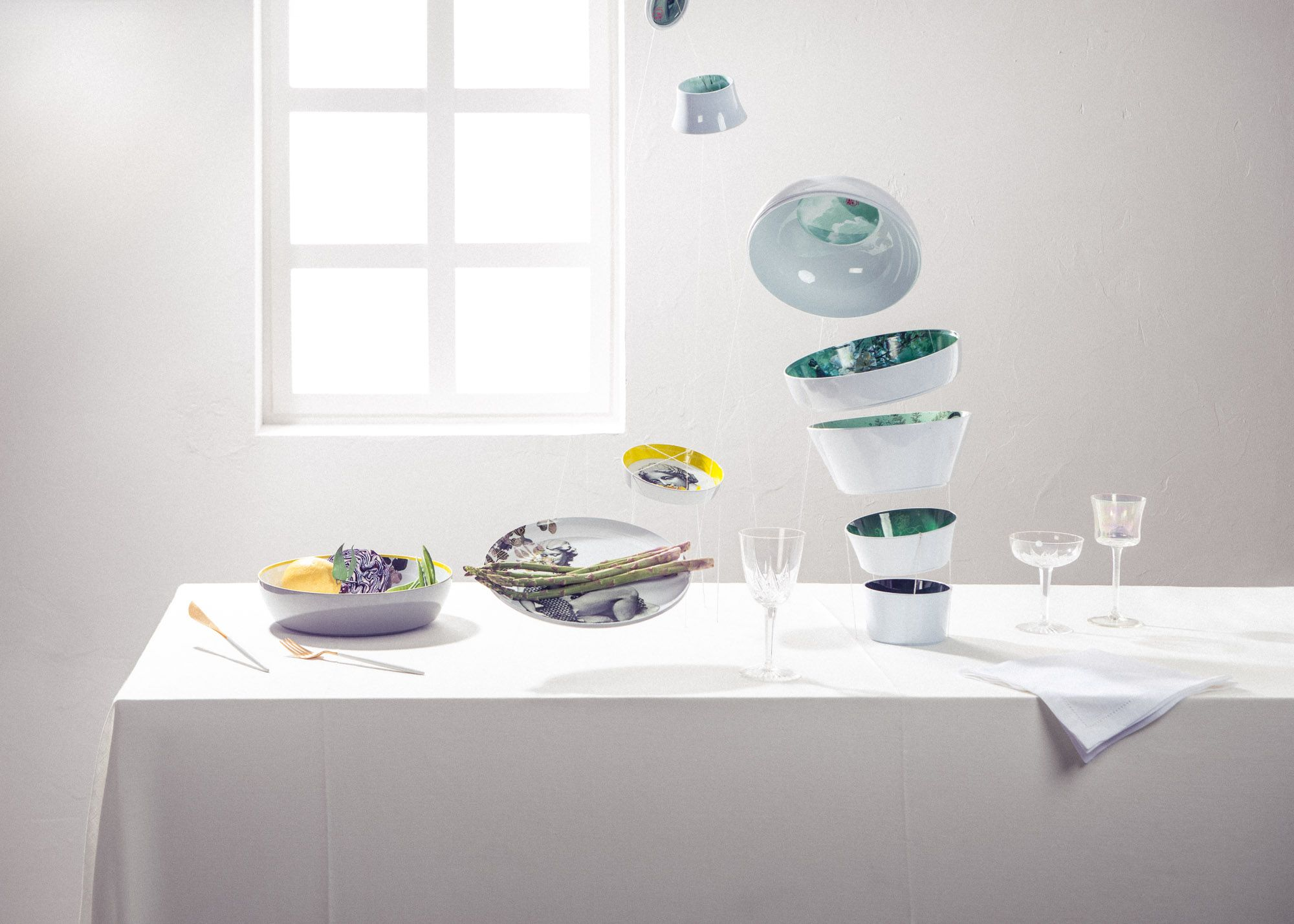 Ming White by ibride Photo Cyrille Robin #design #kitchen #home ...