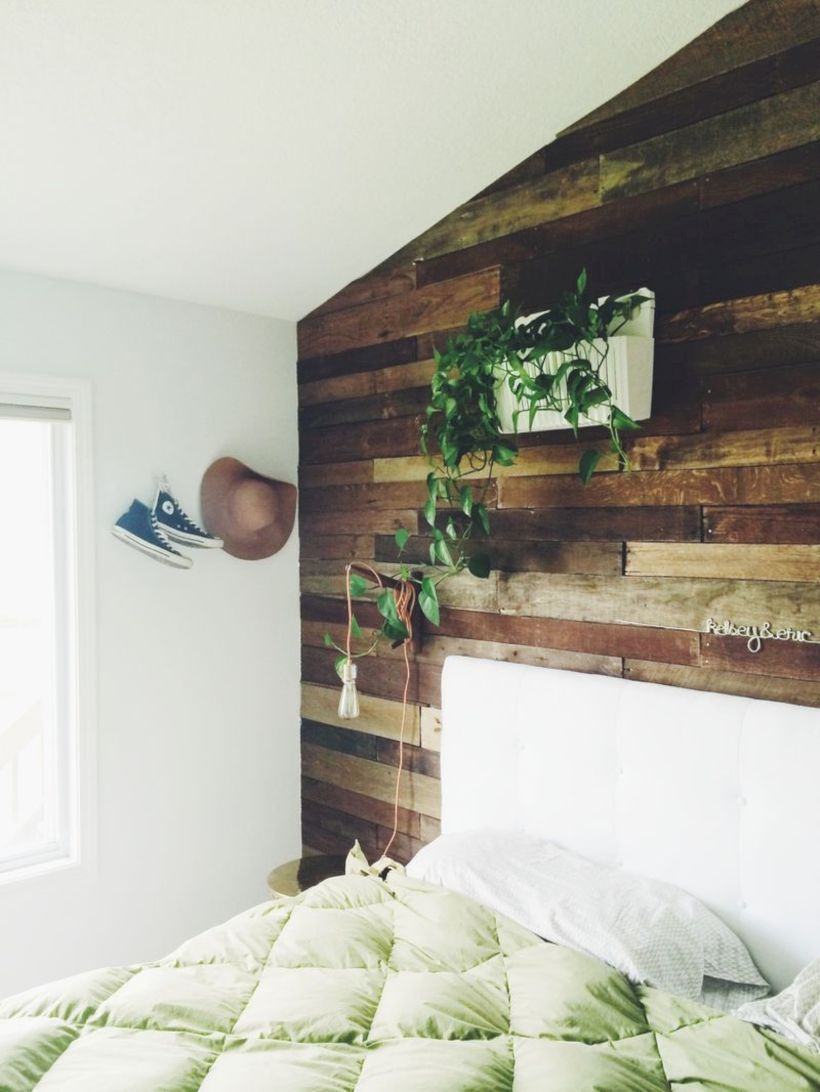 Awesome 55 Rustic Bedrooms Ideas With Wooden Panel Walls. More At  Https://trendecor.co/2017/09/24/55 Rustic Bedrooms Ideas Wooden Panel Walls/