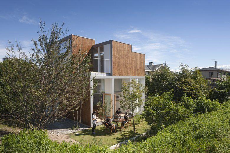 House Passage of Landscape, Toyota, 2014 - ihrmk