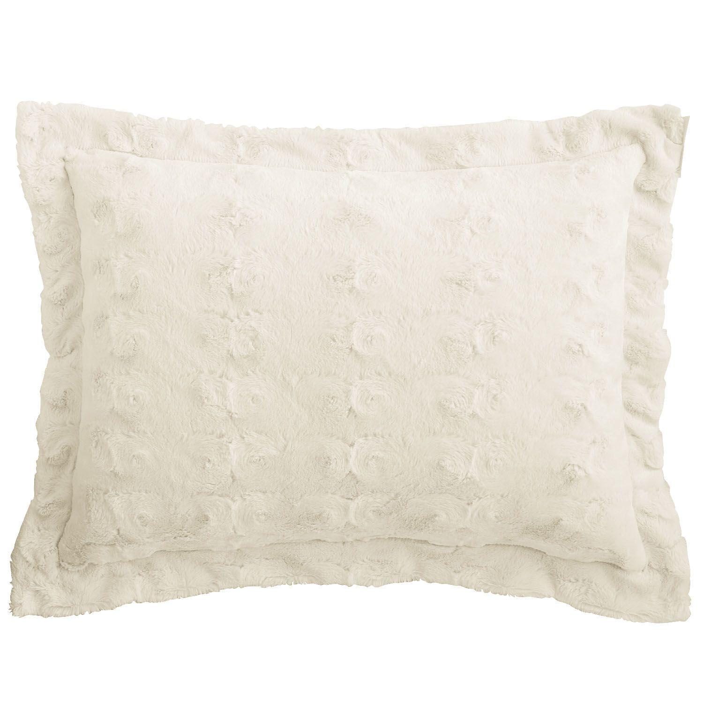 Sand Fuzzy Pillow Sham - Standard $20.00