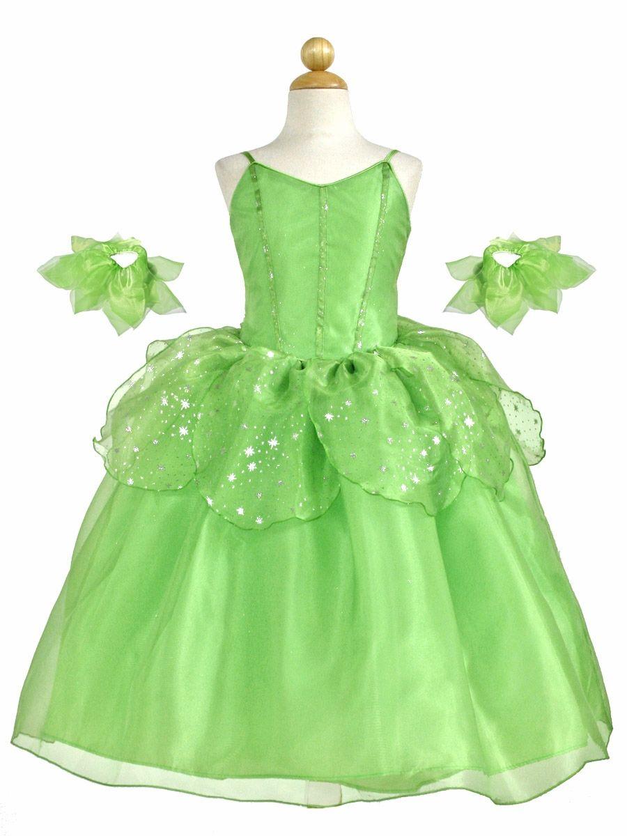 Modern Tinkerbell Wedding Dress Adornment - Colorful Wedding Dress ...