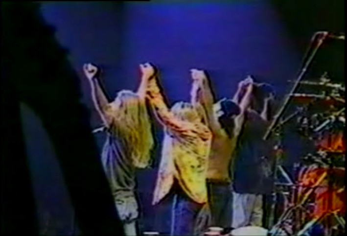 THE LAST SHOW TOGETHER... 1996