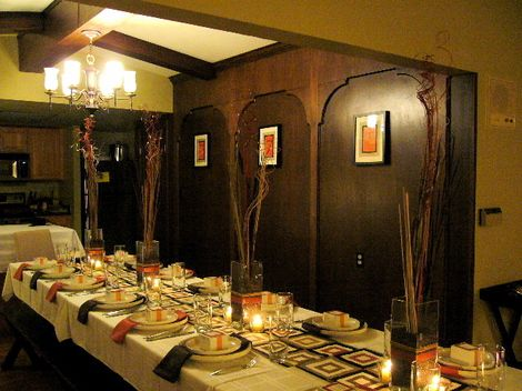 German Dinner Party Decoration