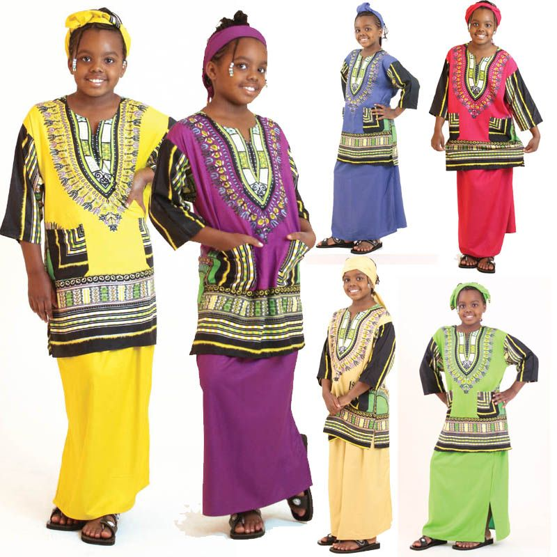 Children's Traditional Dashiki S Tarzan Brainstorm