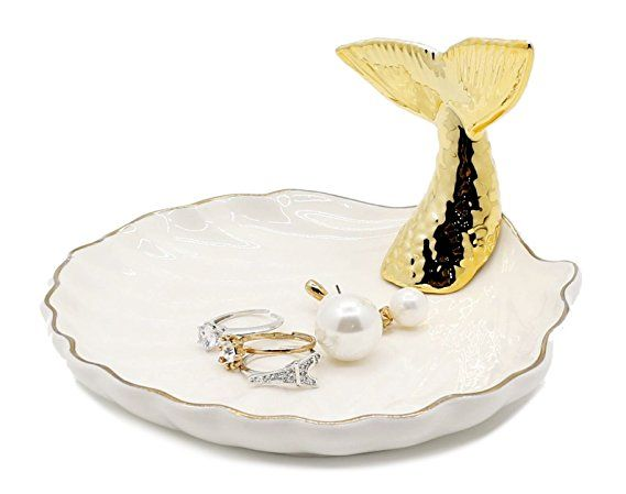 Black And White Jewelry Bowl  Treasure Dish With A Heart  Classy Dish  Pottery Chic  Desk Holder  Jewelry Holder  Black And White Bowl
