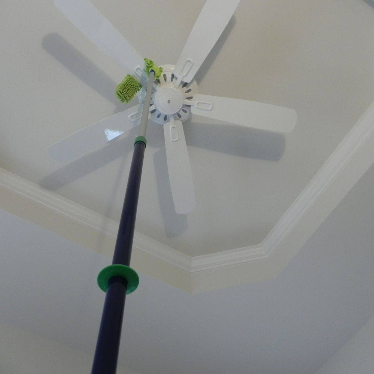 12 foot ceilings cleaned with the Norwex EnviroWand on the ...