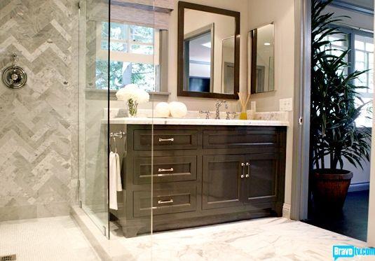 Interior Therapy With Jeff Lewis Season 1 The Jeff Lewis Look Photo Gallery Bravo Tv Offic Bathroom Shower Design Elegant Bathroom Master Bathroom Design