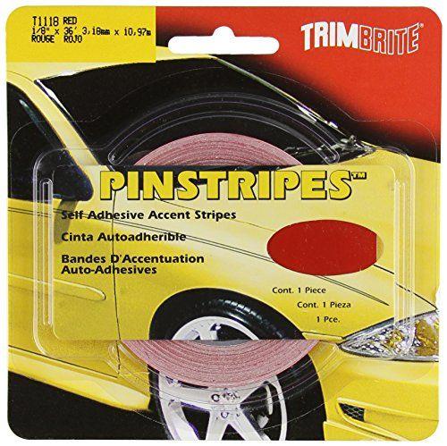 Trimbrite T1118 1 8 Pinstripe Tape Red Trimbrite Http Www Amazon Com Dp B00029xb1y Ref Cm Sw R Pi Dp Wxb6tb0a92dc4 Pinstripe Orchestra Classroom Tape