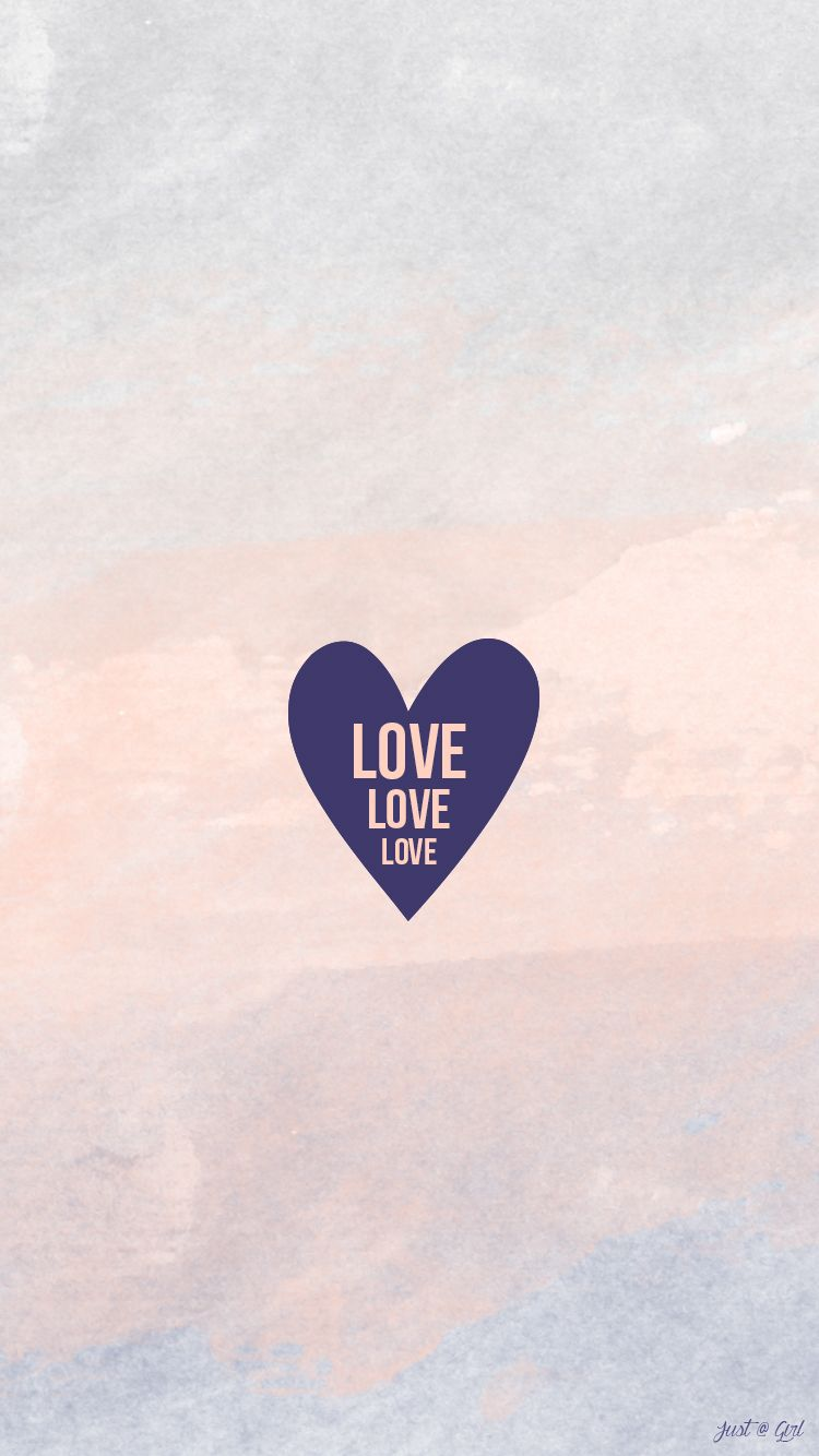 Love Simple Watercolor Girl Iphone Wallpaper Lock Panpins Girl Iphone Wallpaper Watercolor Girl Iphone Wallpaper