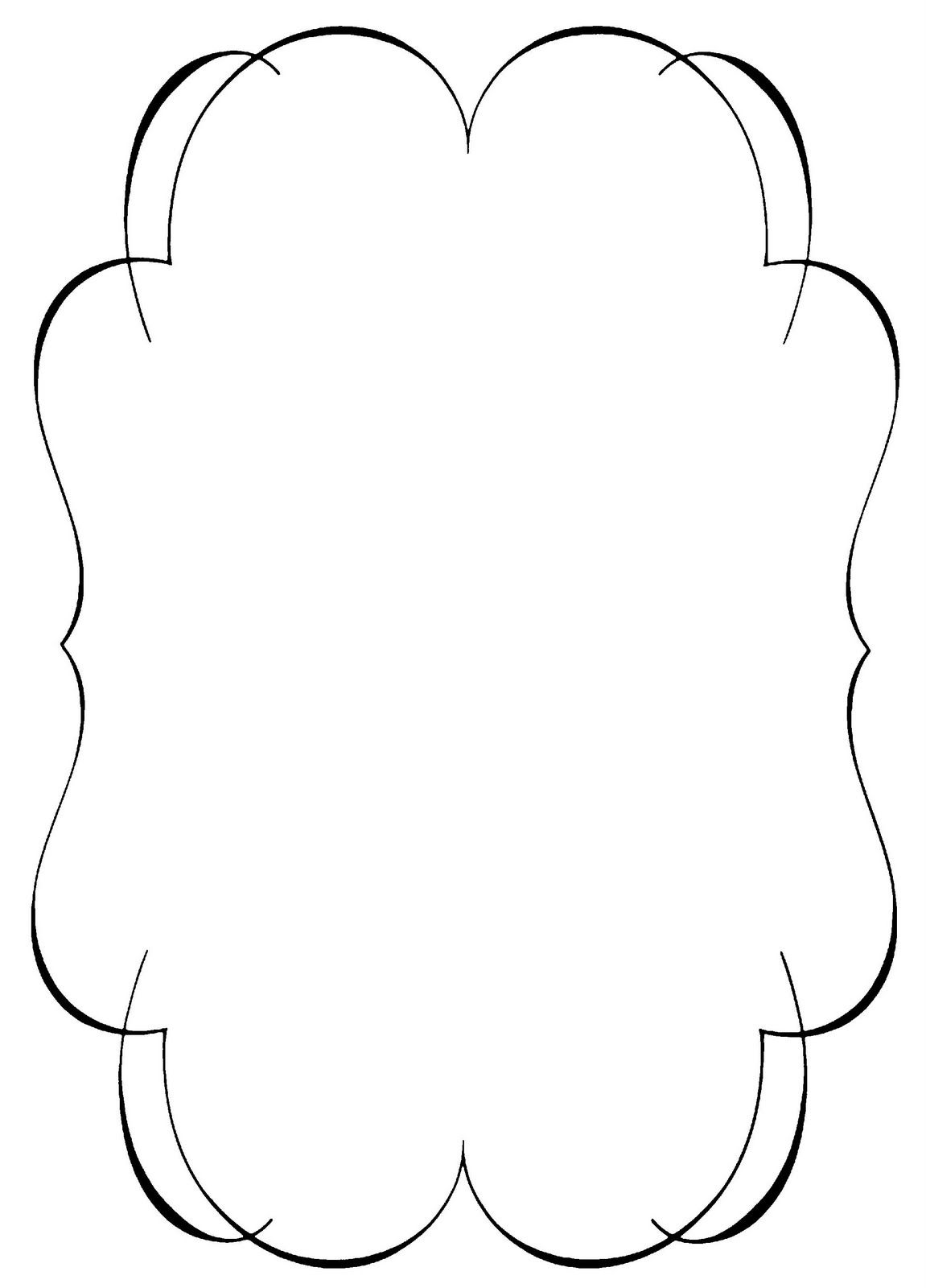 Simple Corner Borders Clip Art