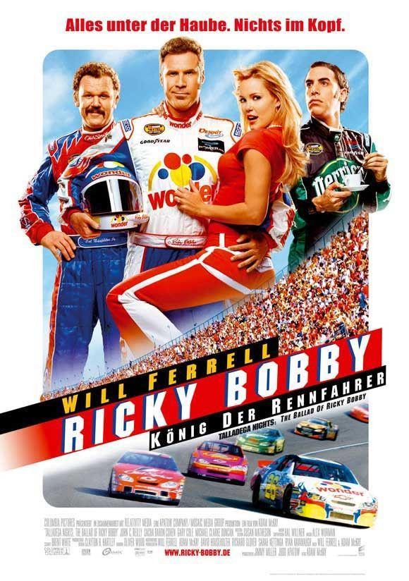 Talladega Nights The Ballad Of Ricky Bobby German 27x40 Movie Poste Etriggerz Wall Decor Accents Furniture And Mor Ricky Bobby Talladega Nights Ballad