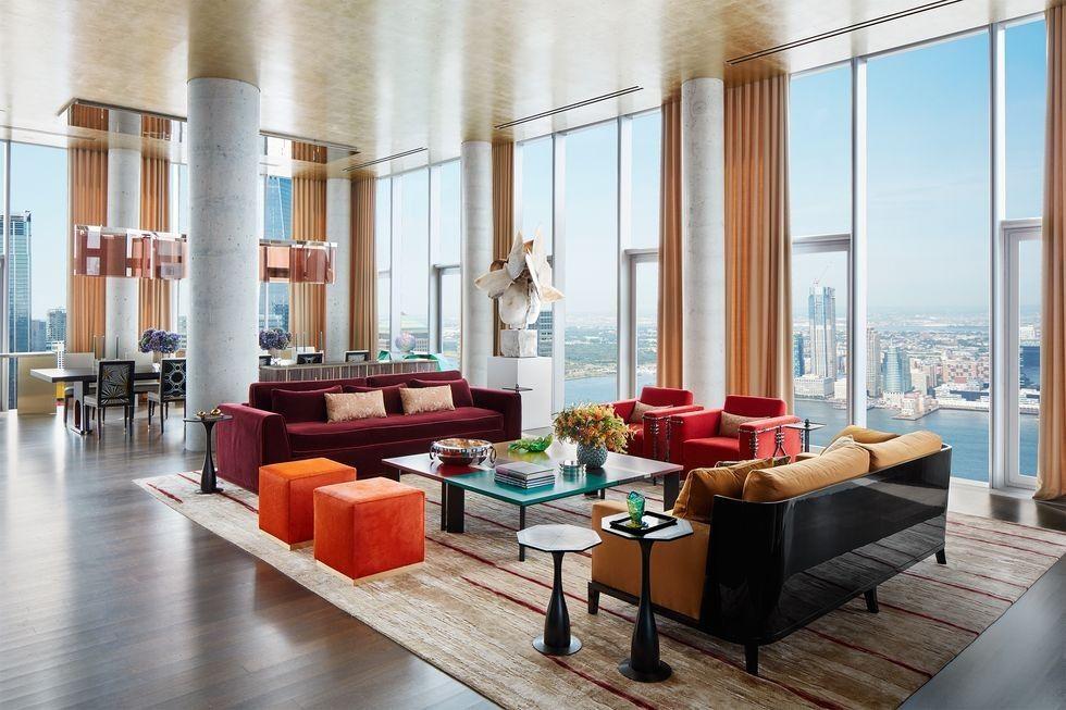 a TriBeCa building, Richard Mishaan designs an apartment ...