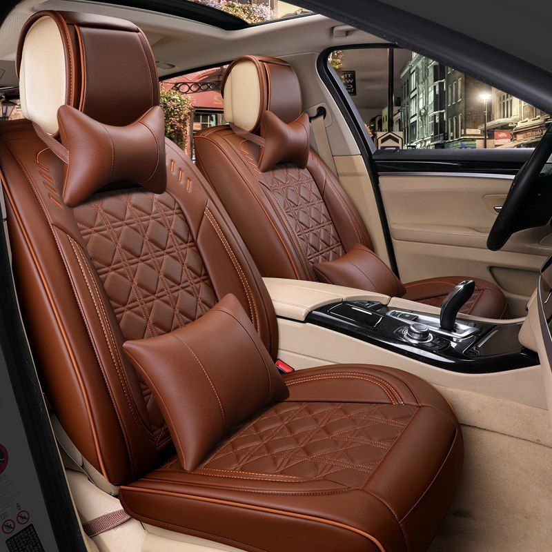 Best Quality Full Set Car Seat Covers For Jeep Grand Cherokee Wk2 2018 2010 Breathable Comfortable Seat Covers Leather Car Seats Car Seats Carseat Cover