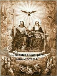 Tu le pides a Dios....