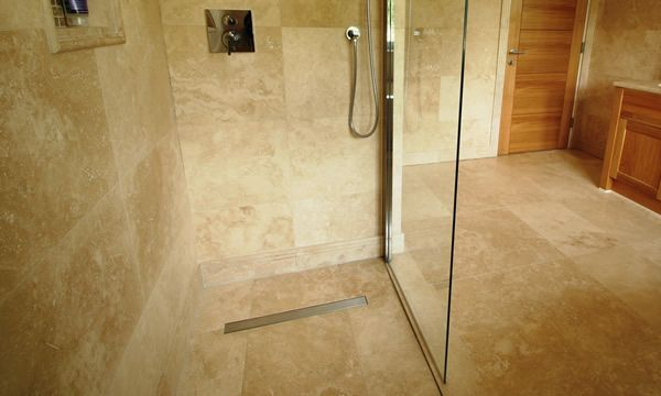 I Love The Idea Of A Wet Room The Shower Stall Is