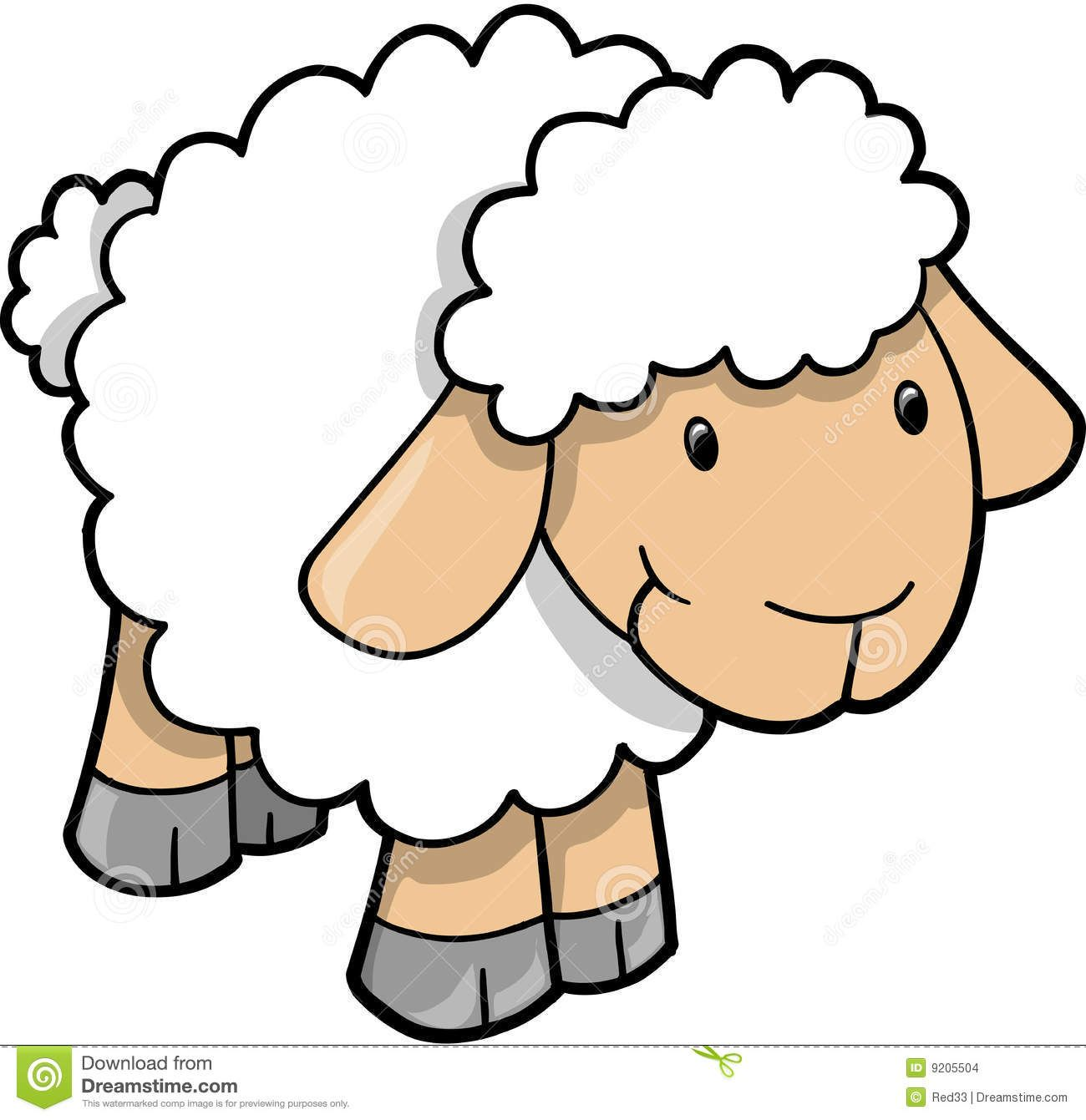 cute sheep images cute sheep lamb vector stock images image rh pinterest com Free Heart Clip Art Vector Free Vector File Clip Art