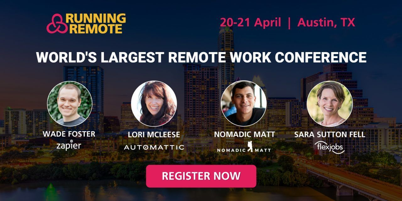 The future of work running remote 2020 remote work