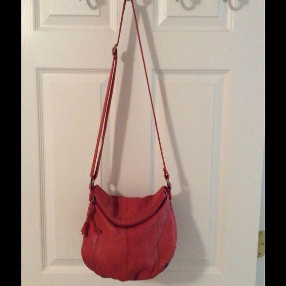 Selling this  The Sak Red Leather Cross Body Bag in my Poshmark closet! My username is: saccardi. #shopmycloset #poshmark #fashion #shopping #style #forsale #The Sak #Handbags