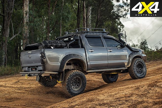 Custom Toyota Hilux Sr5 Rear Pinteres
