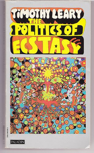 Timothy Leary .. the literature is as exciting as the cover.