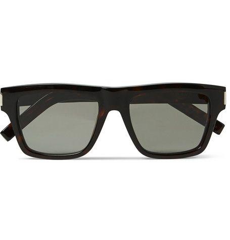 2ea0e87572e Saint Laurent Bold 5 Tortoiseshell Acetate Sunglasses