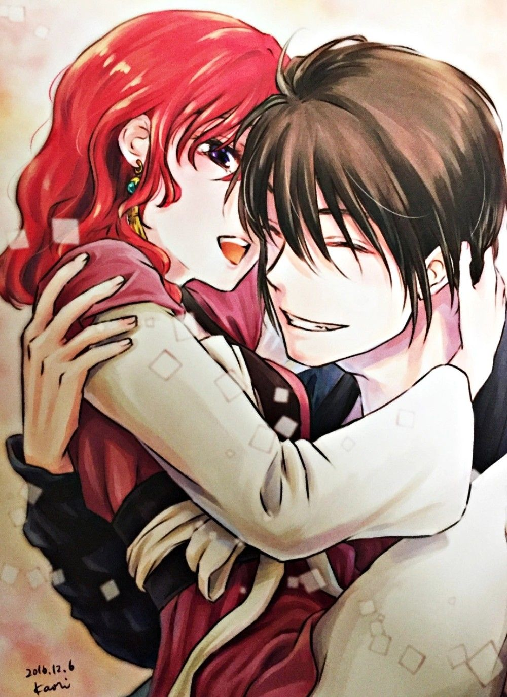 They Re So Perfect I Love Kaori S Arts Credits Drawing Pad By Kaori Anime Memes De Anime Manga