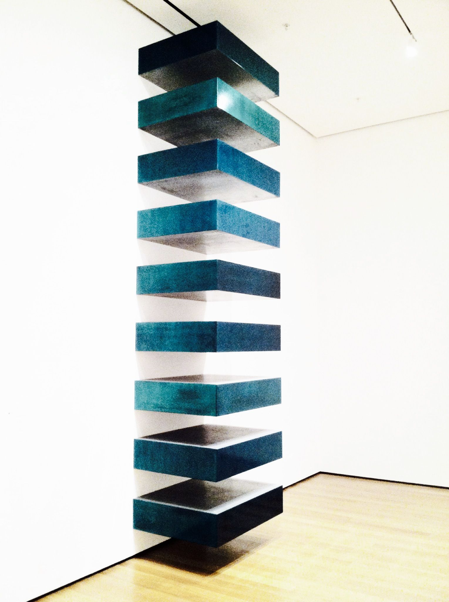 Donald judd untitled stack 1967 nicolette repca for Donald judd stack 1972