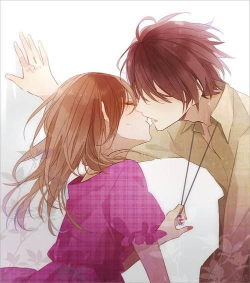 Gambar kiss couple anime in 2019 anime kiss anime - Gambar anime girl cute ...