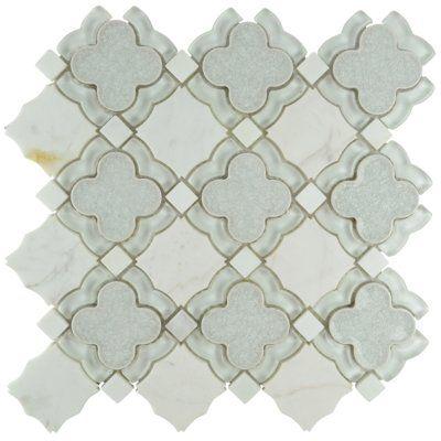 Edredon 12 X 12 Ceramic Mosaic Tile Bohemian Style Tiles