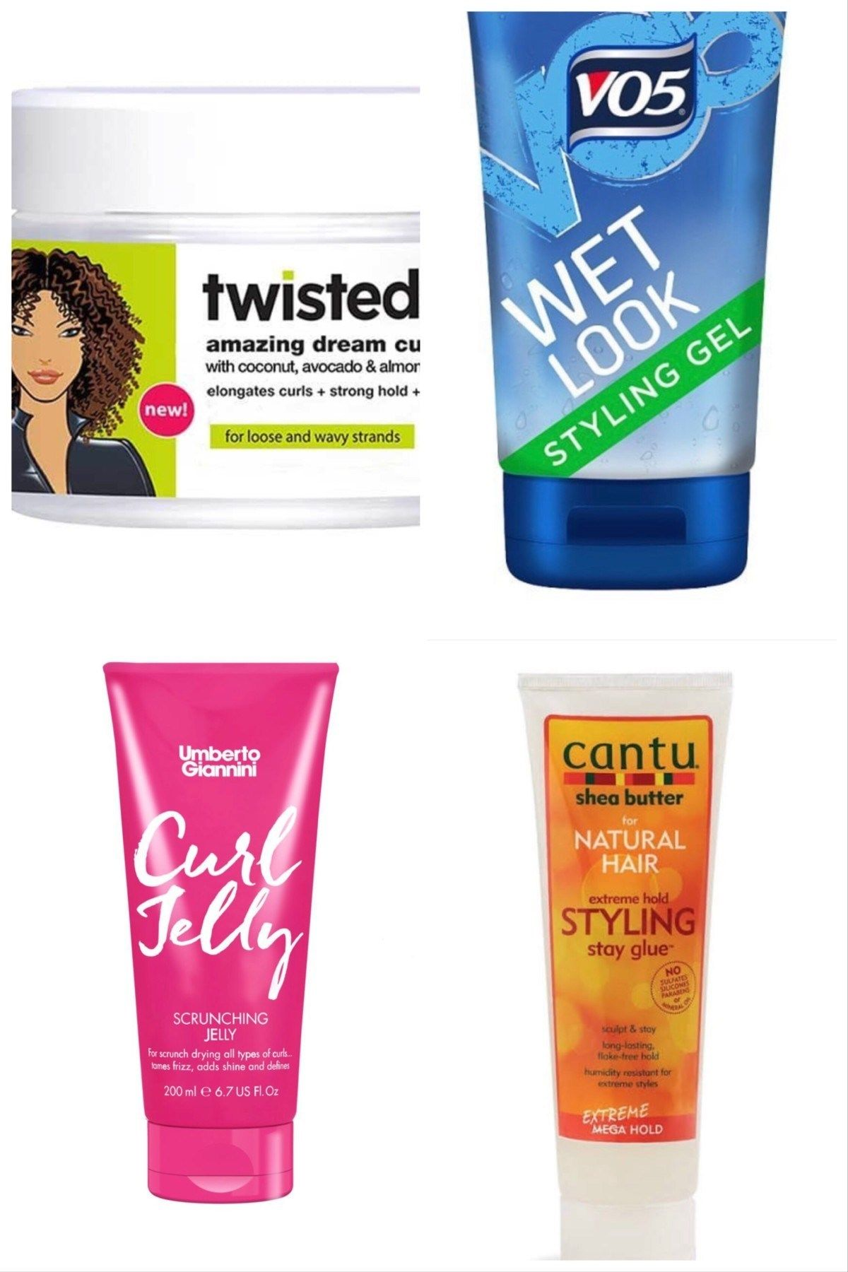 Curly Girl Method Uk Products From Drugstores And Supermarkets