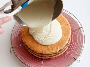 Découvrez la recette Nappage chocolat blanc sur cuisineactuelle.fr.