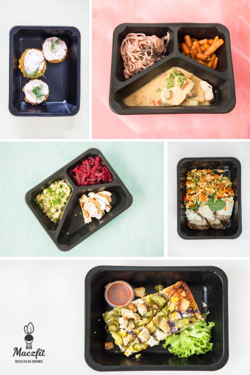 Lunch Box Maczfit Catering Food Inspiracja Pyszne Danie