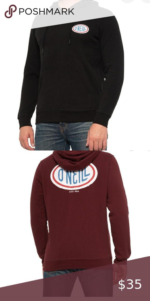 ONeill Crew Pullover Sweatshirt in Black Aop