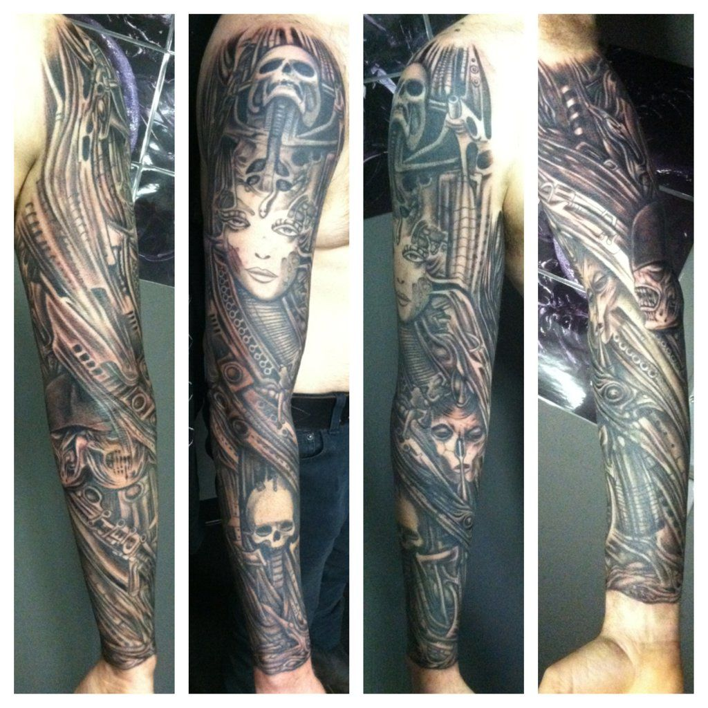 Denver tattoo artist kayden digiovanni giger by kayden7