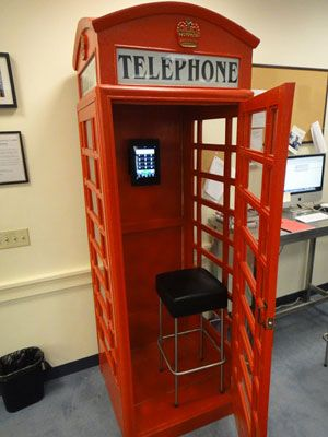 Boing Boing British Phone Booth Telephone Booth London Phone Booth