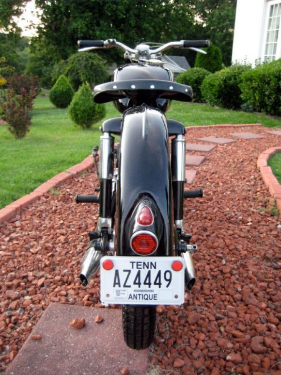Sporting Goods: 1953 Allstate 175 SV | Allstate (Puch