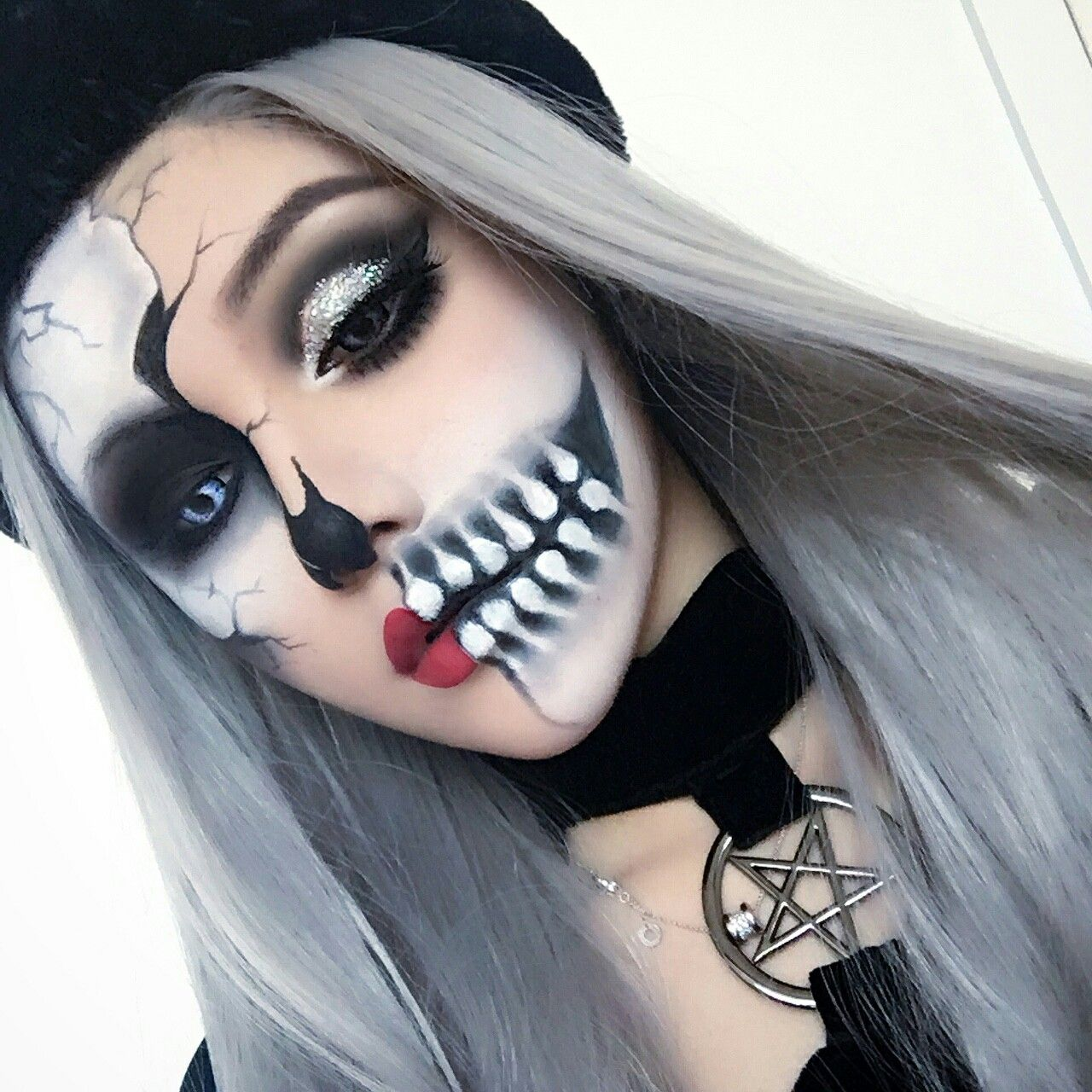 Make up halloween Maquillaje de halloween mujer