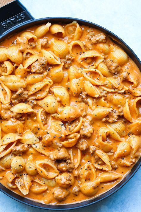 Creamy Beef and Shells images