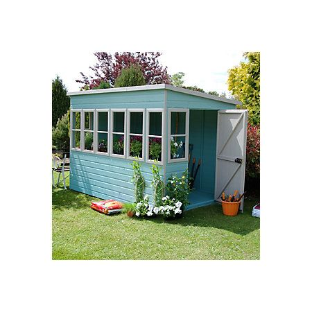 10x6 Pent Shiplap Wooden Shed Assembly Required Departments Diy At B Q Building A Shed Roof Wooden Sheds Building A Wood Shed
