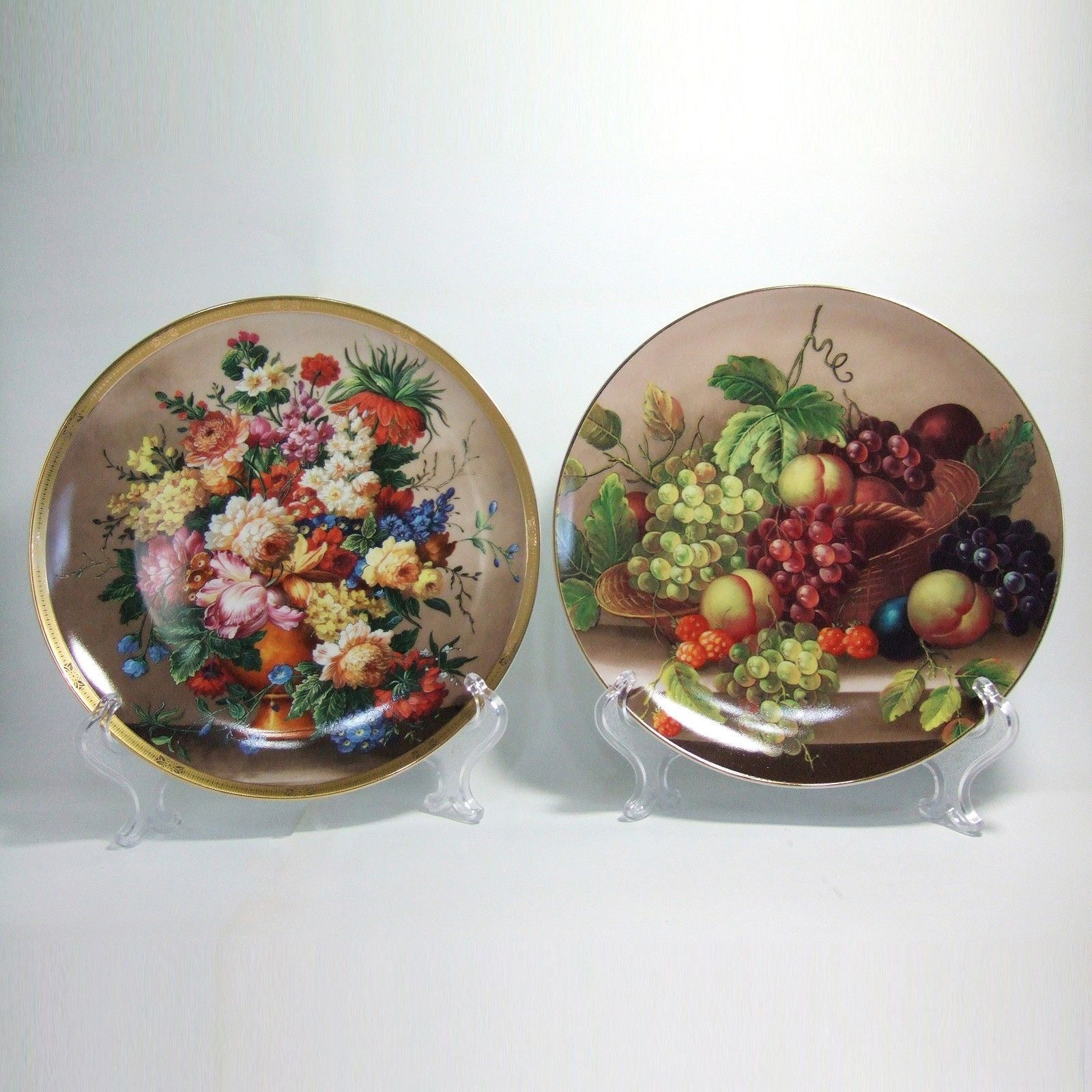 Wall Hangings Decorative Plates Home Decor Ceramic Porcelain Art ...