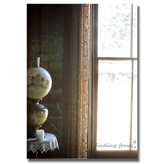 Dreamy Light Bedroom Window Photography, Vintage Lace Oil Lamp Shabby Chic Rustic Farmhouse Still Life Photo, Appalachian Mountain Cabin Art is part of bedroom Window Photography - anyprintyourchoicegallerywrapped                                                                                                                               Thank you for shopping with me!  )