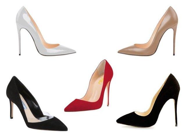354007df4a144 Stilettos by trend-anonymous on Polyvore featuring Prada, stilettos ...