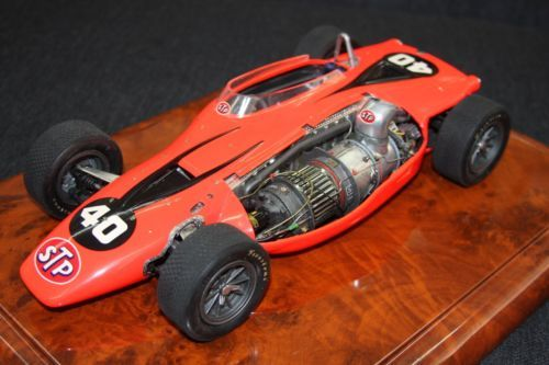 bandai silent sam stp indy turbine car 1 12th pro built dennis koleber. Black Bedroom Furniture Sets. Home Design Ideas