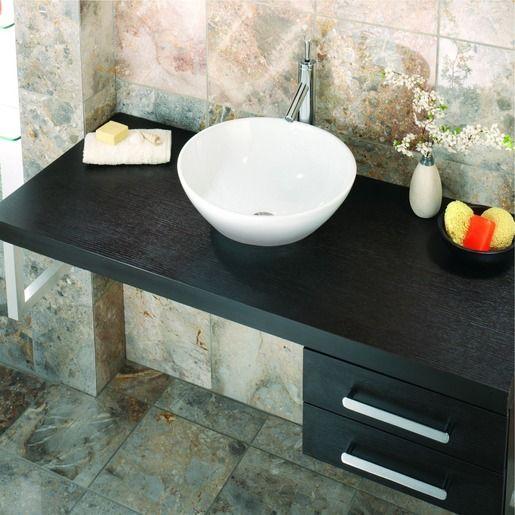 Bathroom Windows Wickes wickes santa rosa elliptical bowl basin 412mm | sinks&taps