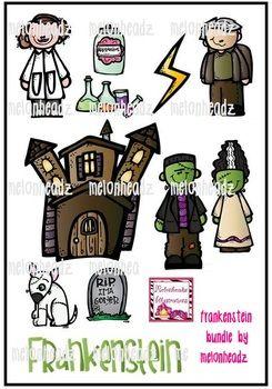 Melonheadz: Frankenstein clip art | Frankenstein, Clip art ...
