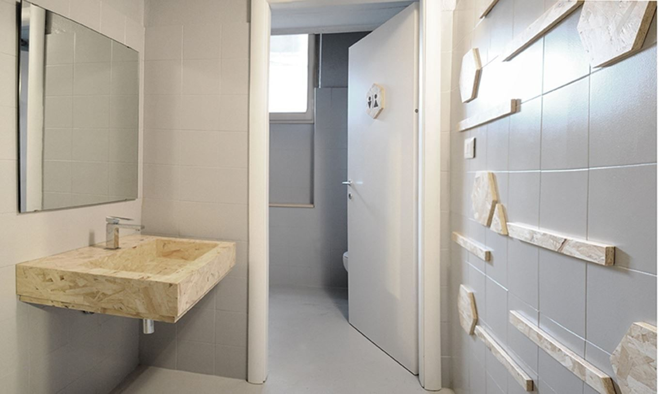 Bagno Low-cost In OSB - Picture gallery | Remodeling on a Budget ...